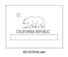 California State Flag Coloring Page - Coloring Home Pages California Flag, California Republic, Flag Coloring Pages, Page Online, Wallpaper, Colors, Luxury, Amazing, Wallpapers