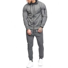 JAMZER Hot Sale Mens Cotton Tracksuit Stripe and Full Zip Sweatshirts Hoodies Autumn Winter O-Neck Sport Suit with Pockets Jackets-Gilets T-Shirts-Shirts Hoodie Sweatshirts, Gym Outfit Men, Track Suit Men, 1 Piece, Men Casual, Trousers, Zipper, Clothing, Scrappy Quilts
