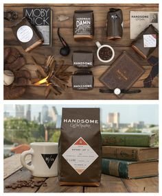 The ever handsome packaging design for Handsome coffee, by PTARMAK.