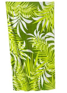 Jungle Palms Beach Towel