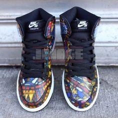 size 40 f256f 73ede Concepts x Nike SB Dunk High