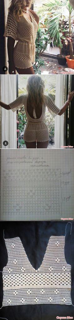 El traje de gancho-line - tejer juntos en línea - País mamá