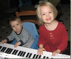 Simple ideas of ways you can use music to interact with your toddler and enrich their daily life!