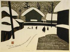 Kiyoshi Saito: Winter in Aizu (4) - Art Gallery of Greater Victoria