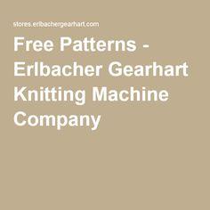 erlbacher gearhart circular sock knitting machine