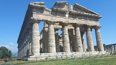 Tempio detto di Nettuno. Metà del V sec a.C. Paestum