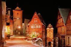 Weihnachten in Rothenburg ob der Tauber