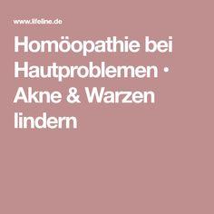 Homöopathie bei Hautproblemen • Akne & Warzen lindern