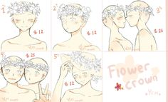 (CLOSED) YCH - flowercrown set price by ChappyVII.deviantart.com on @DeviantArt