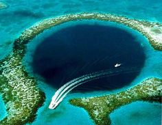 Belize would be a perfect escape after the wedding, rest real, and discover the blue hole as hubby and wify!