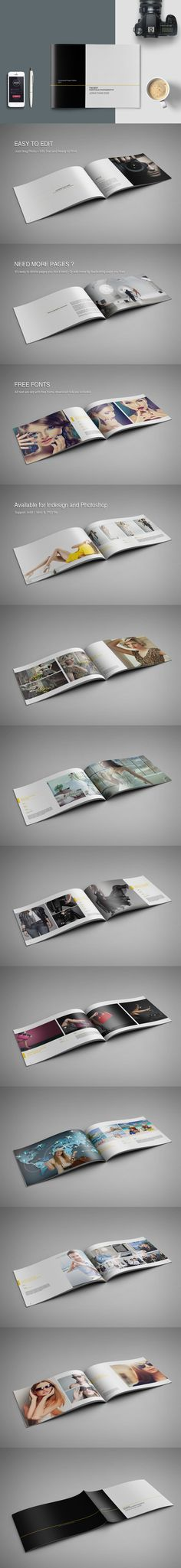 Photography Portfolio Brochure Template InDesign INDD