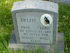 """He loved us and we loved him"" Pet Heaven Cemetery Reynoldsburg, Ohio"