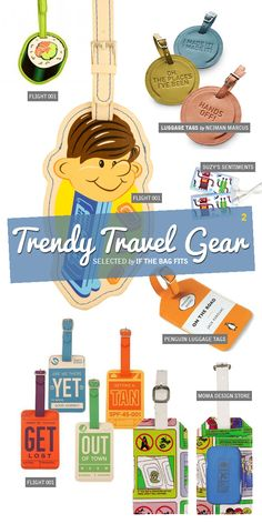 Trendy Travel Gear Luggage Tags jeni's log cabin pouch red and white striped button up Beach travel bags keep your sunglasses, gadgets, . Travel Luggage, Travel Bags, Travel Gifts, Cute Luggage Tags, Little Passports, Travel Must Haves, Best Travel Accessories, Travel Gadgets, Cruise Travel