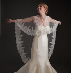Bridal Capes - Beatrice