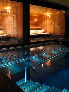 Heimsauna ? Kann Ein Traum Wirklichkeit Werden? - Https ... Schlichtes Sauna Design Holz Seeblick
