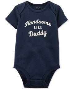 Carter's Baby Boys' Short-Sleeve Handsome Bodysuit