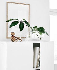 Ooomph, need that vase✔️ The curvy minimal 'Urna Vase' by @marimekkodesignhouse in jolly company with everyone's favorite monkey 'Abe' by #kaybojesen // have a beautiful start to the week everyone Image via @finnishdesignshop //