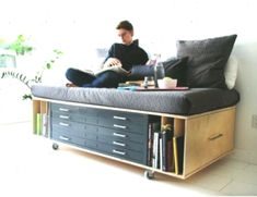 Space Saving Furniture Ideas For Your Home Saver Bedroom Tv Unit Design, Tv In Bedroom, Space Saving Furniture, Home Furniture, Furniture Ideas, Flat Files, Natural Home Decor, Home Interior, Home Projects