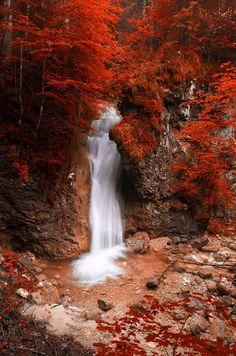 RED WATERFALL by Gerd Pfluegler on 500px