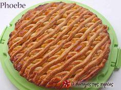 Τάρτα με μαρμελάδα ή αλλιώς πάστα φλώρα #sintagespareas Greek Recipes, Flora, Apple Pie, Sweets, Desserts, Cakes, Tarts, Apple Cobbler, Sweet Pastries
