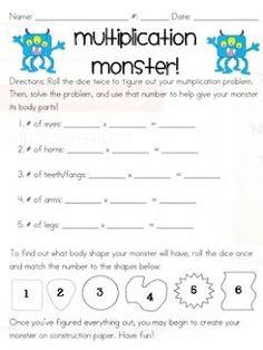 Cute multiplication game