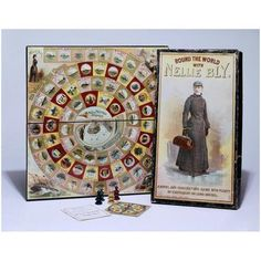 Round the World with Nellie Bly.  I want it.