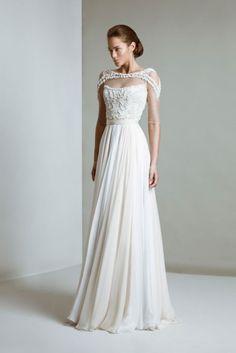 Tony Ward Bridal Collection 2014, model Elizabeth