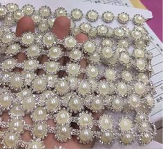 Great for your dress phone clothes shoes nail art headwear wedding dress and other project. all rhinestone made of 888 quality. Pearl Quantity:55-57pcs. | eBay!