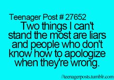 100% YES! I know someone who just never apologises and always plays victim.