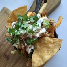 Carnitas and home made tortillas on fries. Quirky and addictive.