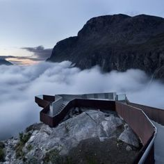 Impresionante . Trollstigen Tourist Route Project  by Reiulf Ramstad Architects