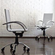 Swivel Leather Desk Chair 400 bucks