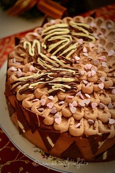 Tort cu crema trufe de ciocolata Something Sweet, Mousse, Cake, Desserts, Food, Projects, Pies, Tailgate Desserts, Log Projects