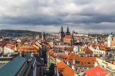 View from The Powder Tower, Prague