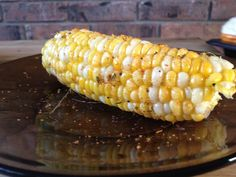 Try your favorite BBQ rub on sweet corn. So delicious and new! Husband approved too!