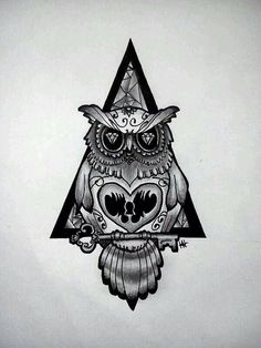Owl Tattoo Design More Ideas Designs Art