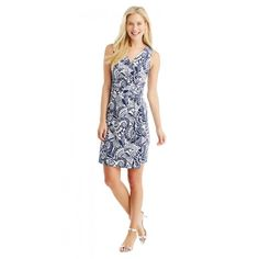 Brea Sleeveless Dress in Abstract Deco by J.McLaughlin