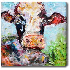 YGC 'Ox' Oil on Art