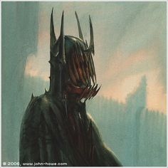 The Mouth of Sauron - John Howe