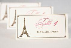 escort card ideas: cities of the world escort cards (by wedding monograms via emmaline bride)