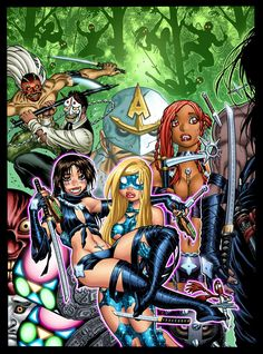 Empowered vol. 7's cover by Adam Warren