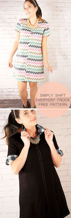 Simply Shift: The Everyday Reversible Free Pattern