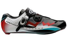 Northwave Extreme Tech cycling shoes -black/white/red (Radioshack Nissan Trek)