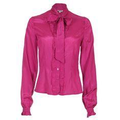 e66a898c535 Silk blouse · plus size 80 s hot pink cuff jacket - Bing images Stylish  Office Wear