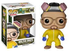 """Cabezón Breaking Bad Walter White """"Cook"""". Funko POP Television Cabezón creado por Funko para su colección POP Televisión de Walter White, el personaje principal de la serie Breaking Bad."""