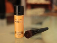 NEW IN: Bare Minerals Bare Skin Serum Foundation revised and on film on www.BeautyPassionista.com