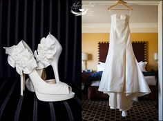 Those shoes! That dress! Wedding at Hotel Marlowe, Boston. A Kimpton Hotel.