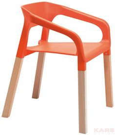 Stuhl Rack Orange Orange Furniture, Funky Furniture, Luxury Furniture, Furniture Design, Stylish Chairs, Cool Chairs, Kare Design, Design Design, Interior Design
