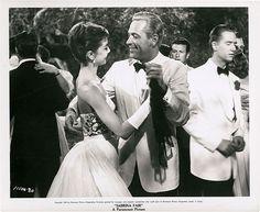Audrey Hepburn and William Holden in Sabrina 1954