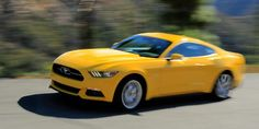 Ford Mustang Ecoboost Yellow Wallpaper